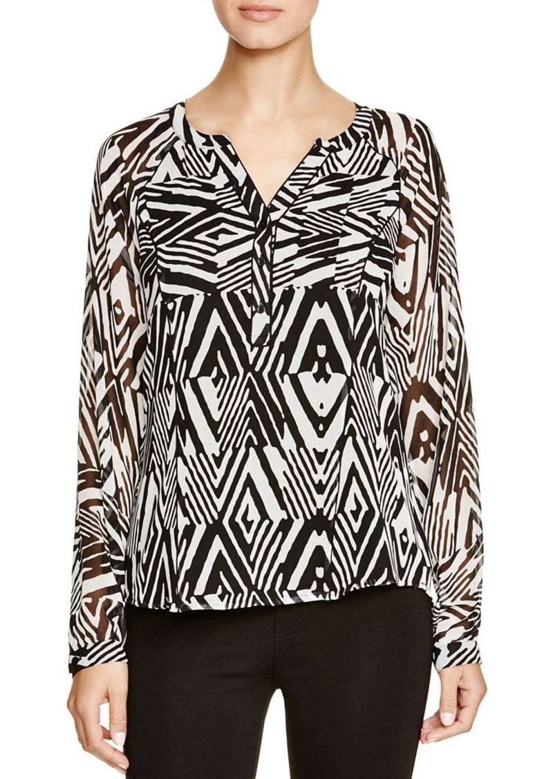 Calvin Klein Calvin Klein Graphic Print Blouse Dress