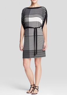 Calvin Klein Grid Print Dress