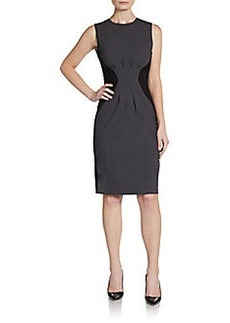Calvin Klein Half & Half Colorblock Dress