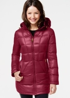 Calvin Klein Hooded Down Packable Puffer Coat