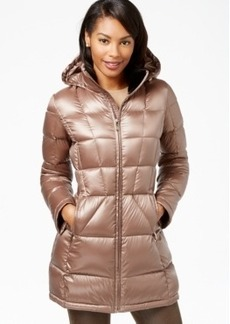 Calvin Klein Hooded Down Packable Puffer Coat