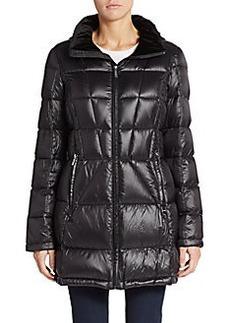 Calvin Klein Hooded Down Puffer Jacket