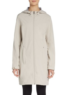 Calvin Klein Hooded Soft Shell Coat