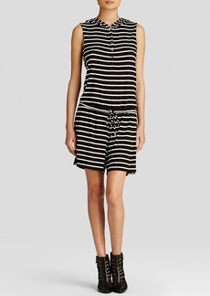 Calvin Klein Hooded Stripe Romper