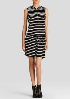 Calvin Klein Hooded Stripe Romper