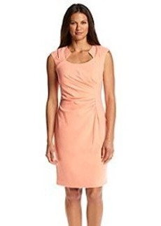 Calvin Klein Horseshoe Sheath Dress