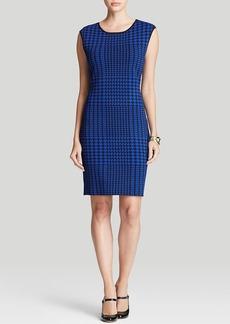 Calvin Klein Houndstooth Sweater Dress