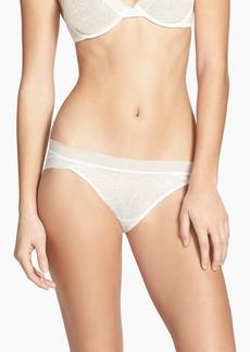 Calvin Klein 'Icon' Lace Bikini