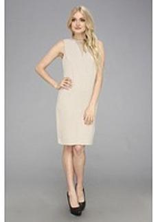 Calvin Klein Inverted Illusion Neckline Dress CD3E11S2