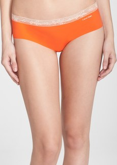 Calvin Klein 'Invisibles' Lace Trim Hipster Briefs (3 for $30)