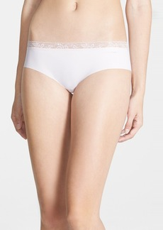 Calvin Klein 'Invisibles' Lace Trim Hipster Briefs