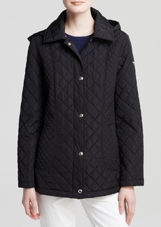 Calvin Klein Jacket - Diamond Quilted Single-Breasted
