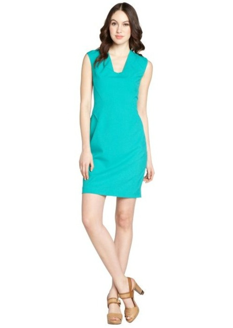 Calvin Klein jadette cap sleeve vneck dress