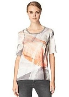 Calvin Klein Jeans Abstract Paint Brush Shirt