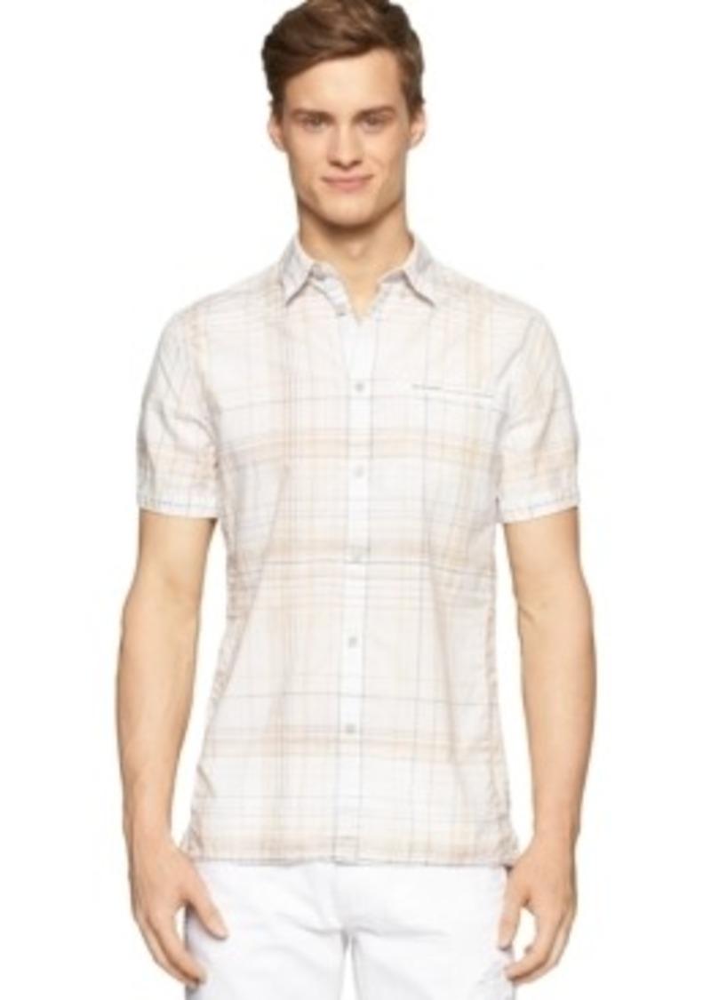 Calvin Klein Calvin Klein Jeans Beach Plaid Shirt Casual
