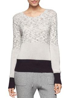 CALVIN KLEIN JEANS Contrast Knit Sweater