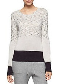 CALVIN KLEIN JEANS Contrast Knit Sweater
