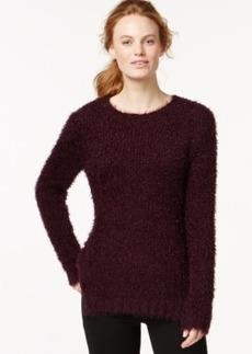 Calvin Klein Jeans Crew-Neck Eyelash Sweater