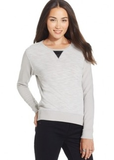 Calvin Klein Jeans Crew-Neck Long-Sleeve Sweatshirt