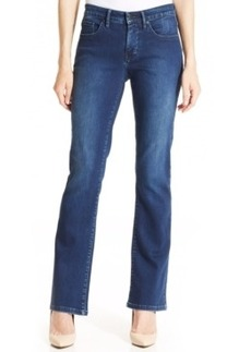 Calvin Klein Jeans Curvy-Fit Bootcut Jeans, Secret Wash
