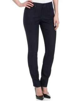 Calvin Klein Jeans Curvy-Fit Skinny Jeans, Rinse Wash