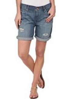Calvin Klein Jeans Destroyed Boyfriend Shorts