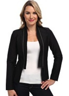 Calvin Klein Jeans Double Texture Zip Collar Jacket