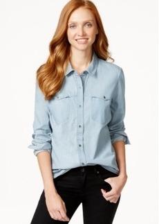 Calvin Klein Jeans Flap-Pocket Denim Shirt