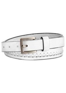 Calvin Klein Jeans Flat Strap Stitched Belt