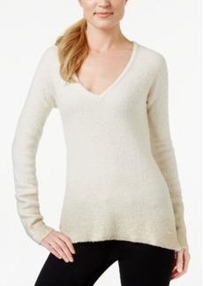 Calvin Klein Jeans Foil-Detail V-Neck Sweater
