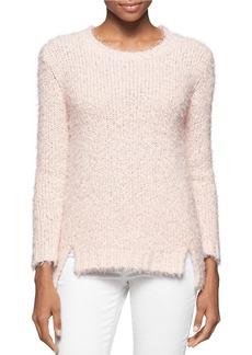 CALVIN KLEIN JEANS Fuzzy Knit Sweater