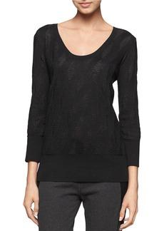 CALVIN KLEIN JEANS Geo Jacquard Sweater