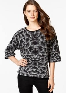 Calvin Klein Jeans Jacquard Crew-Neck Sweater