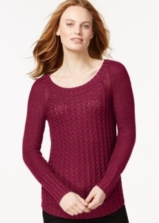 Calvin Klein Jeans Knit Scoop-Neck Sweater