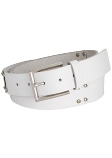 Calvin Klein Jeans Leather Panel Belt