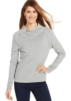 Calvin Klein Jeans Long-Sleeve Mock Turtleneck Top
