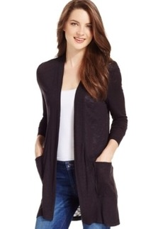 Calvin Klein Jeans Long-Sleeve Open-Front Cardigan