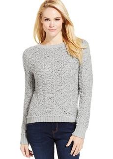Calvin Klein Jeans Long-Sleeve Open-Knit Sweater