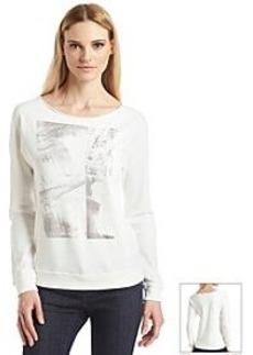 Calvin Klein Jeans® Long Sleeve Pullover Sweatshirt