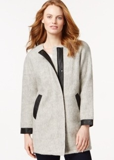 Calvin Klein Jeans Marled Long-Sleeve Coat