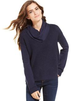 Calvin Klein Jeans Metallic-Knit Turtleneck Sweater