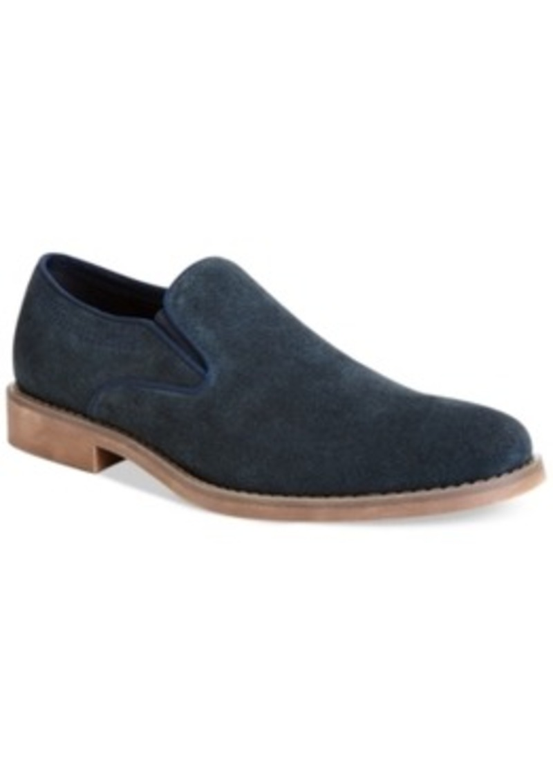 Calvin Klein Suede Slip-On Shoes for Men