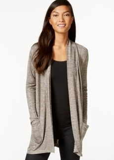 Calvin Klein Jeans Open-Front Heathered Cardigan