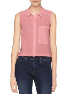 CALVIN KLEIN JEANS Patch Pocket Blouse