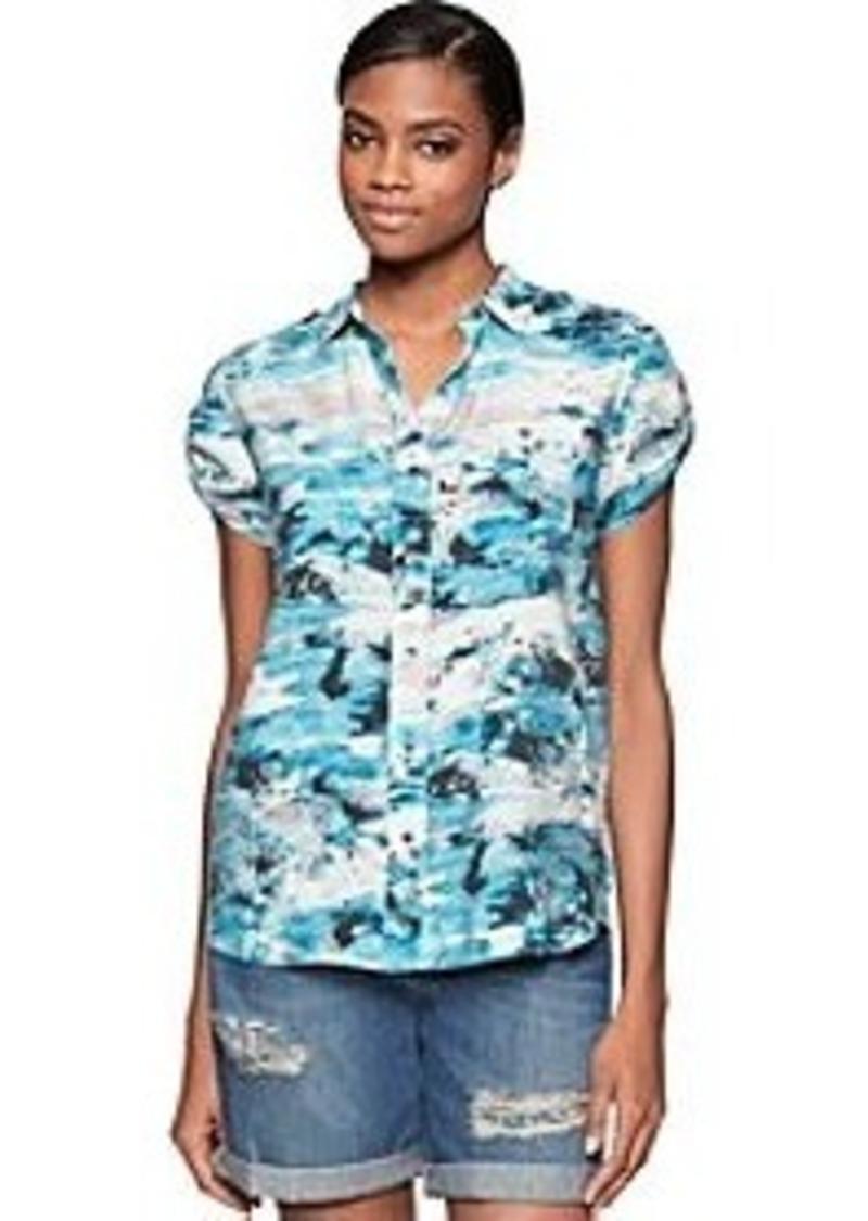 Calvin Klein Calvin Klein Jeans Printed Short Sleeve Top