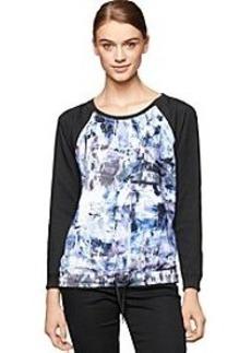 Calvin Klein Jeans® Raglan Sleeve Sweater