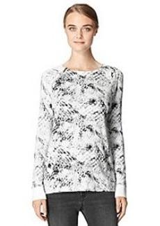 Calvin Klein Jeans® Raglan Zip Printed Top