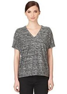 Calvin Klein Jeans® Reverse Front Deep Vneck Top