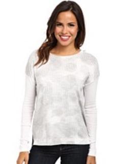 Calvin Klein Jeans Rib Sleeve Boxy L/S Shirt