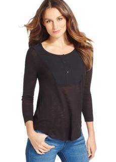 Calvin Klein Jeans Scoop-Neck Top